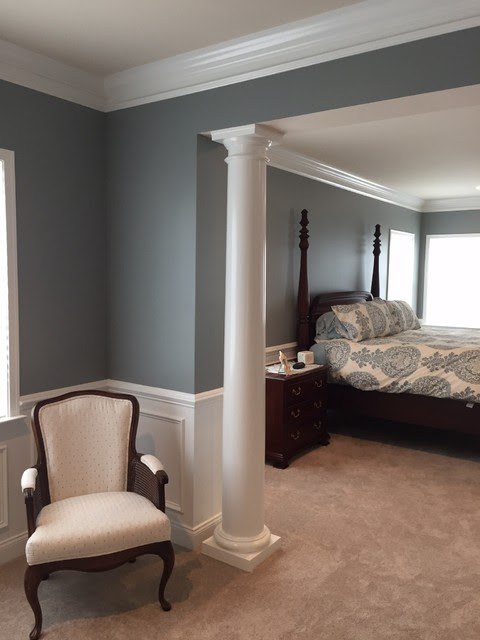 Colors Comfortably Out of the Box - Transitional - Bedroom - detroit - by Jill J. Wallace, Color Redesign