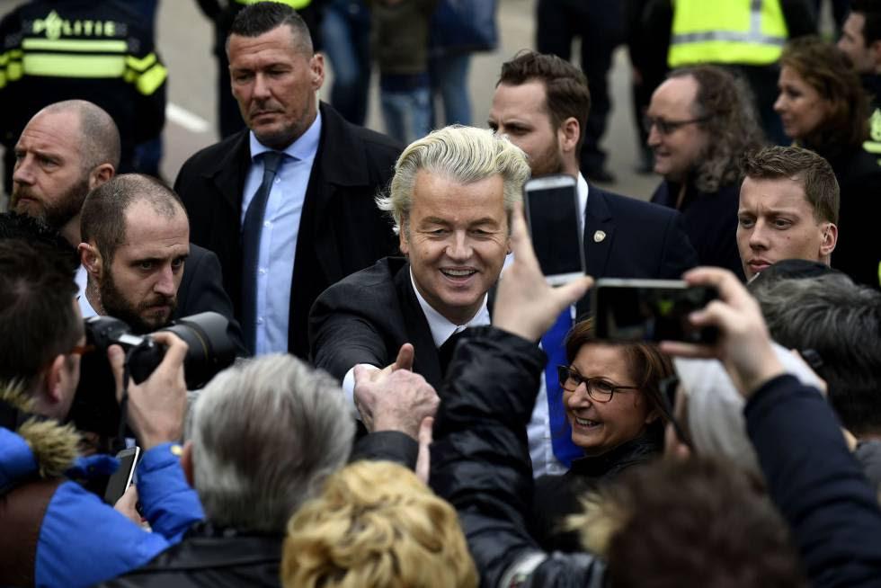 El líder ultraderechista holandés, Geert Wilders.