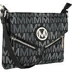 MKF Collection by Mia K. Farrow Nathy Milan M Signature Crossbody