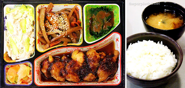Chicken Teriyaki Bento (P240)
