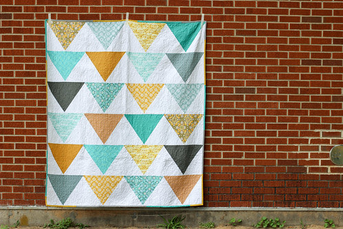 Flagged Quilt Tutorial - In Color Order