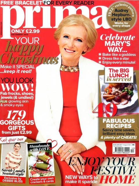 PRIMA Magazine - December 2013 - Cover