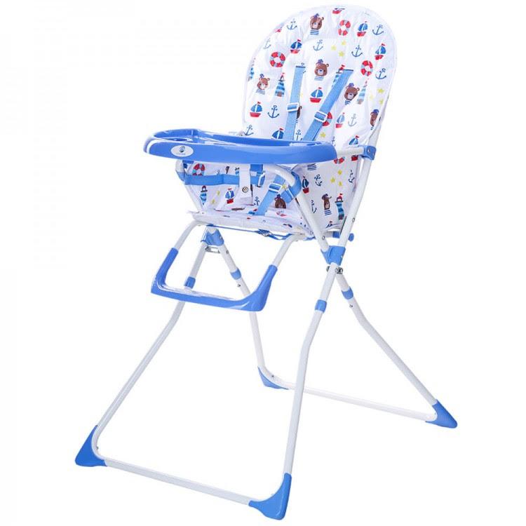 scaun de masa bimba kidscare albastru