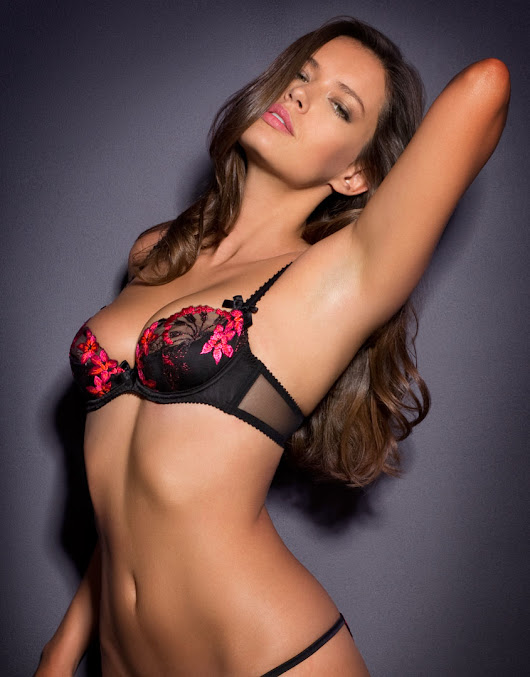 Image : Agent provocateur Brianna Bra Black And Pink in Black | Lyst