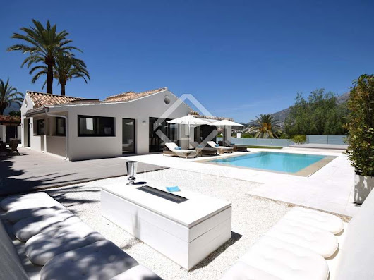 Outstanding modern villa for sale in Nueva Andalucia's Golf Valley