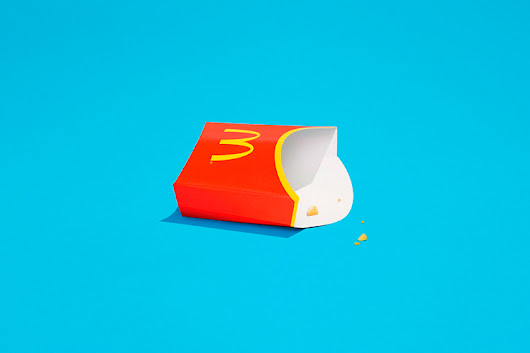 McDonald's is Taking Minimalism to the Extreme | HeyDesign Graphic Design & Typography Inspiration