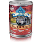 Blue Wilderness Dog Food, Wolf Creek Stew, with Savory Salmon in Gravy - 12.5 oz