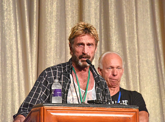 Eccentric 'Cybersecurity Legend' John McAfee Offers To Decrypt San Bernardino iPhone For FBI And Save America