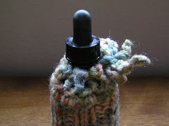 dropper bottle with cozy