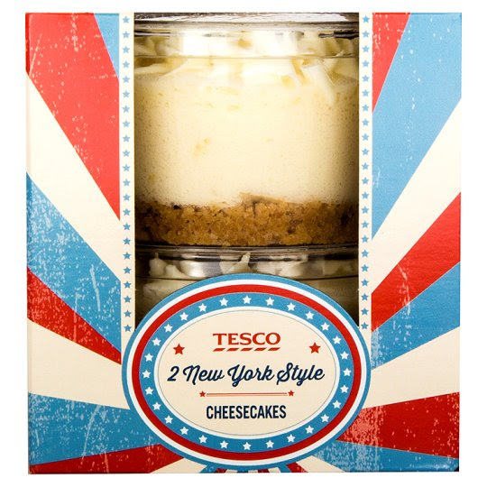 Tesco New York Cheesecake 2X85g