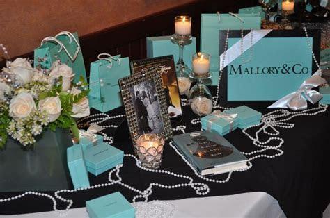 Tiffany & Co. theme Bridal Shower   Party Ideas