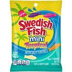 Swedish Fish Mondelez Retail Fat Free Soft Mini Tropical Candy 5oz (PACK Of 12)