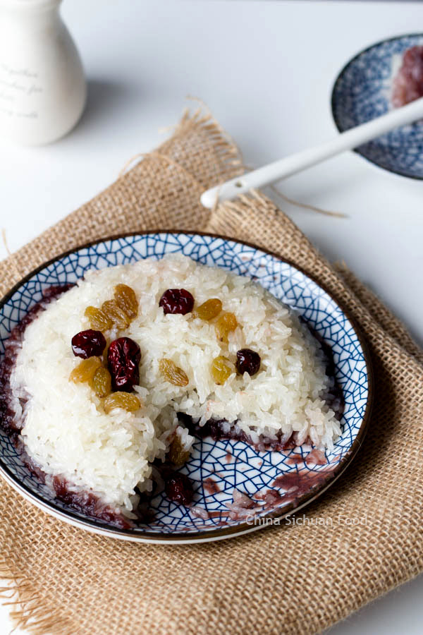 Chinese Sticky Rice Recipes-Two Ways | China Sichuan Food
