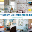 Get Inspired: Wallpaper Behind the Bed - The Inspired Room
