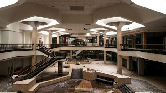 The death of the US shopping mall