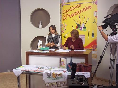 Eu no Mulher.com, tv seculo 21 by Vera Arte com Giz