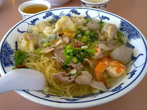 Combination Wonton Noodle (#9)