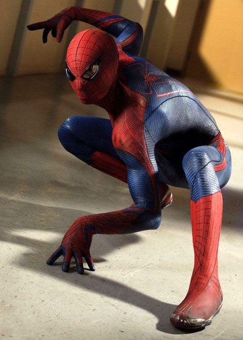 The Webslinger is primed for action in THE AMAZING SPIDER-MAN.