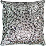 """Rizzy Home 12"""" x 12"""" Pillow - T05936"""