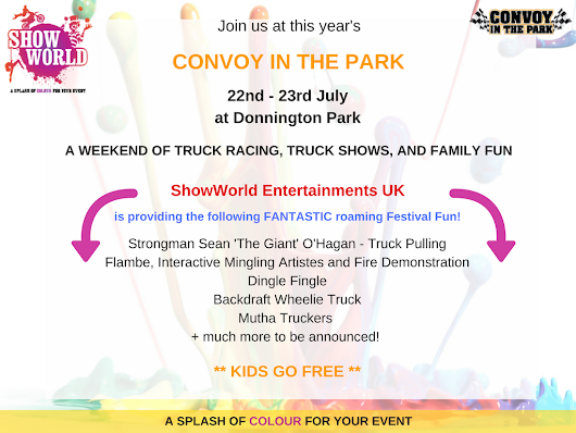 ShowWorld Entertainments At Convoy In The Park