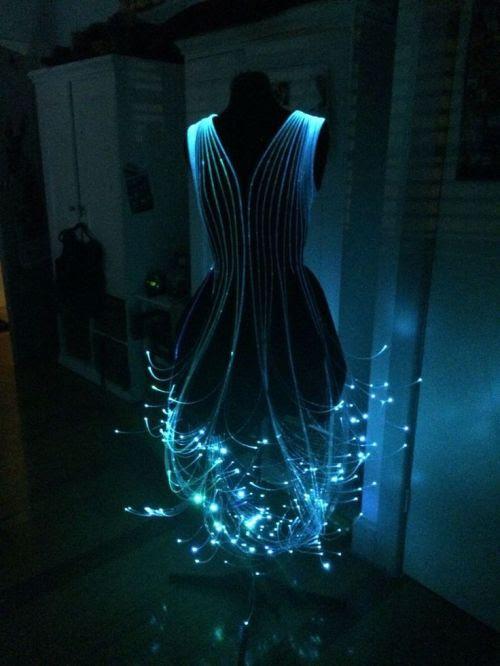 liamliamofficial:  Fiber Optic Dress