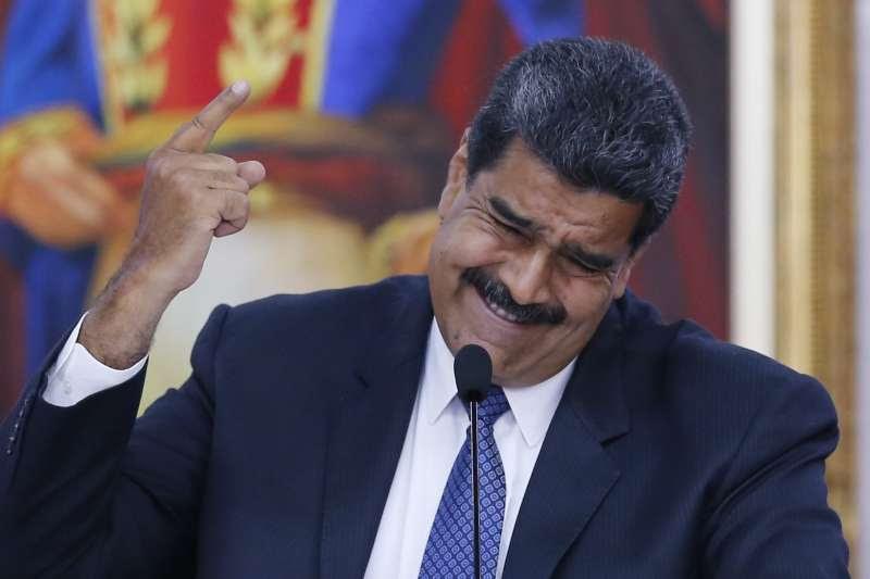 委內瑞拉總統馬杜洛。(AP)