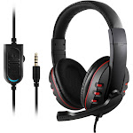 Altatac 3.5mm Wired Gaming Headset Over-Ear Stereo Headphone and Mic