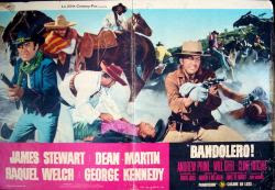 Bandolero Italian fotobusta movie poster (1968)