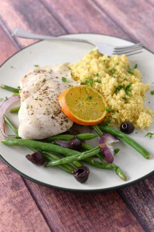Za'atar Chicken Sheet Pan with Orange Couscous