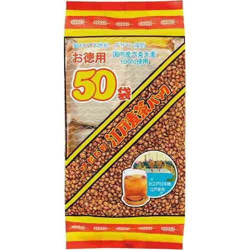 常陸屋本舗 常陸屋 江戸麦茶徳用 10g×50袋入×3