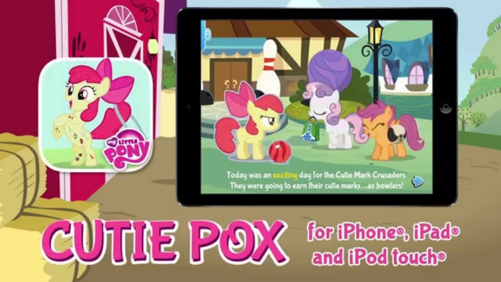 maxresdefault 1024x576 My Little Pony: Cutie Pox New StoryBook App and a My Little Pony DVD/Cutie Pox App/ $25 iTunes Gift Card Giveaway!