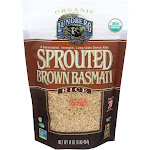 Lundberg Brown Rice, Basmati, Organic, Sprouted - 16 oz