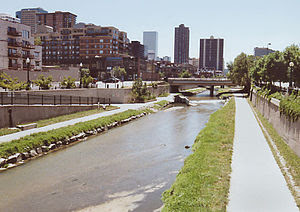 Cherry Creek in w:Denver, Colorado