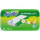 Swiffer Sweeper Wet Wet Mopping Cloths, Refills, Open-Window Fresh - 12 cloths