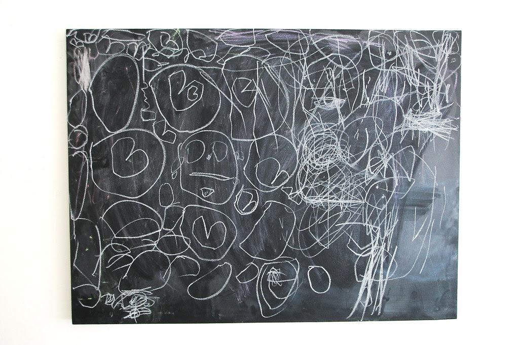 a new chalkboard installation