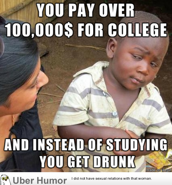 As A Non American Reading About American College Students Funny