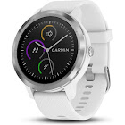 Garmin Vivoactive 3 Smart Watch with Heart Rate Monitor, White/Stainless