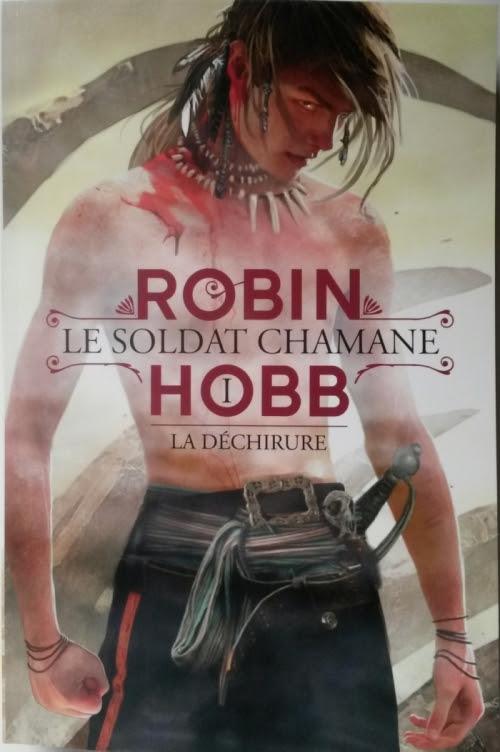 Couverture Le Soldat chamane, tome 1 : La Déchirure