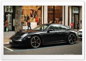 Porsche On Race Track Ultra Hd Desktop Background Wallpaper