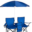 Double Folding Chair/w Umbrella Table & Cooler, $28.98 Shipped - Sweet Deals 4 Moms