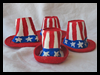 Miniature Uncle Sam Hats Craft