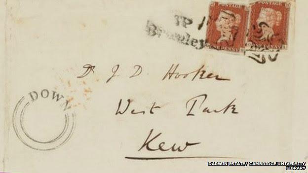 Carta de Darwin a Hooker