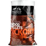 Traeger Pel319 Hickory Barbeque Hardwood Wood Pellets, 20 Lb