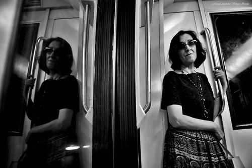 Metro de Santiago Chile. by Alejandro Bonilla