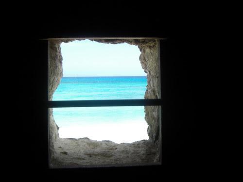 Window to the sea....