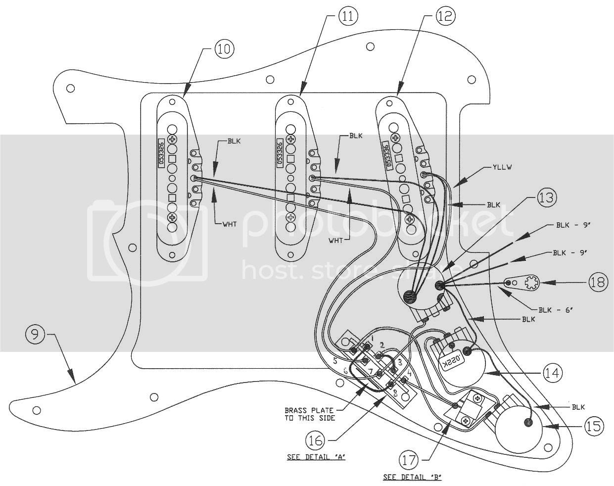 Deluxe Player Strat - wiring ? | The Gear Page