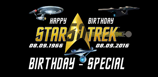 STAR TREK 50 Jahre Happy Birthday - Special