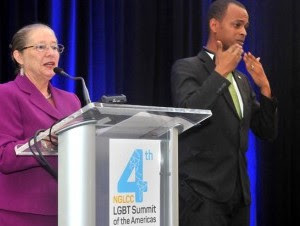 La directora de la USAID, Alexandria L. Panehal, dijo que cuentan con un millón de dólares para fortalecer la agenda de LGBT.