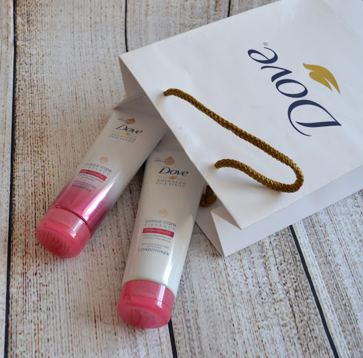 Dove Advanced Hair Series Colour Care Vibrancy Shampoo & Conditioner