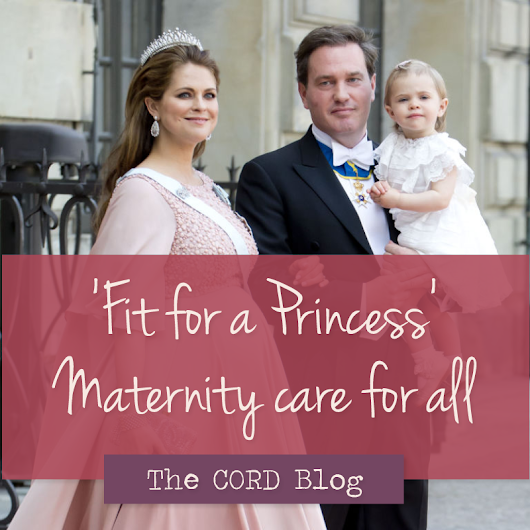 "Maternity Care in Sweden ""Fit for a Princess"""